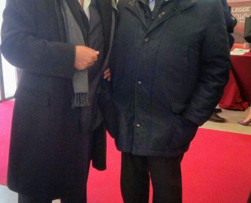 Il presidente del consiglio delle camere penali e il presidente della camera penale di Isernia